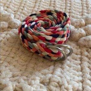 Gap colorful braided belt